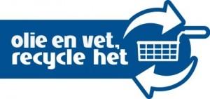 Vet recycle het logo