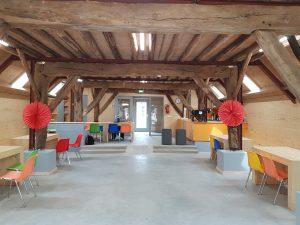 Verbouwde stal kinderboerderij Driebergen