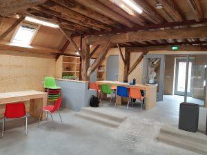 Prachtige houten kasten kinderboerderij Driebergen