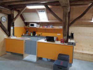 Mooie keuken en winkel kinderboerderij Driebergen
