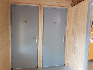 Nu twee toiletten kinderboerderij Driebergen